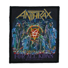 nášivka ANTHRAX - FOR ALL KINGS - RAZAMATAZ, RAZAMATAZ, Anthrax