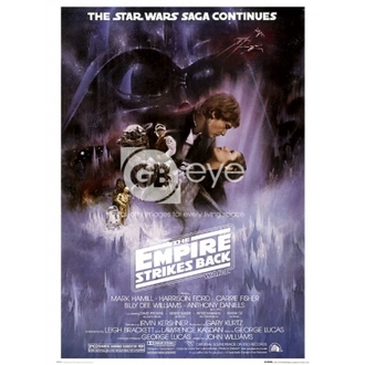 plagát - Star Wars Episode 5 - One Sheet - FP1417 - GB posters