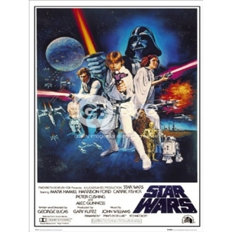 plagát - Star Wars Episode 4 - One Sheet B - FP1419 - GB posters