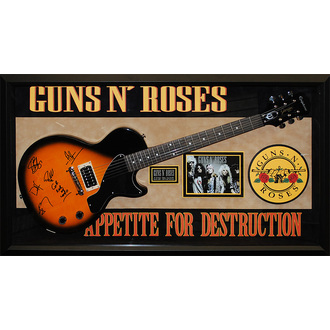 gitara s podpisom Guns N' Roses, ANTIQUITIES CALIFORNIA, Guns n Roses
