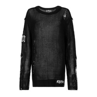 sveter (unisex) KILLSTAR - Haight You Knit - Black - K-KNT-M-2656