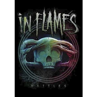 vlajka In Flames - Battles, HEART ROCK, In Flames