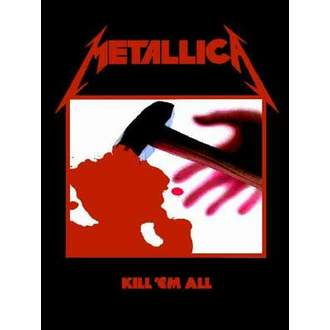 vlajka Metallica - Kill'em All - HFL0190