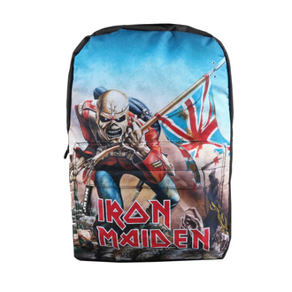 batoh IRON MAIDEN - TROOPER - RED, NNM, Iron Maiden