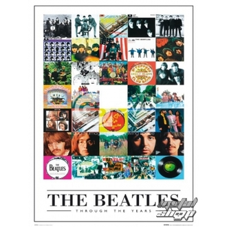 plagát - The Beatles - Through the Years - LP0594 - GB posters