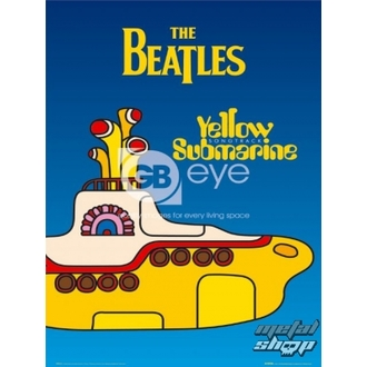 plagát - The Beatles - Yellow Submarine Cover - LP0614 - GB posters