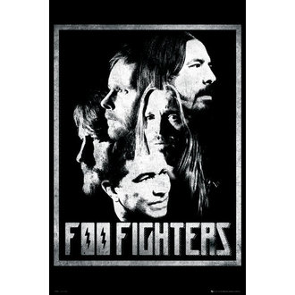 plagát Foo Fighters - Group - GB Posters - LP1576