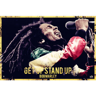 plagát Bob Marley - Get Up Stand Up - GB Posters - LP1581