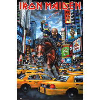 plagát Iron Maiden - New York - GB posters, GB posters, Iron Maiden