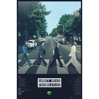 plagát THE BEATLES - ABBEY ROAD TRACKS - GB posters, GB posters, Beatles