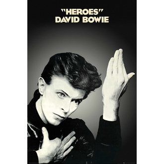 plagát DAVID BOWIE - HEROES - GB posters, GB posters, David Bowie