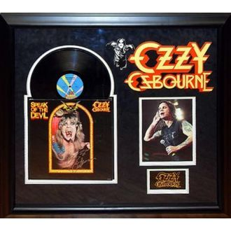 LP s podpisom Ozzy Osbourne - Speak of the Devil, ANTIQUITIES CALIFORNIA, Ozzy Osbourne