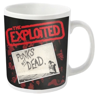 hrnček EXPLOITED - PUNKS NOT DEAD - PLASTIC HEAD, PLASTIC HEAD, Exploited