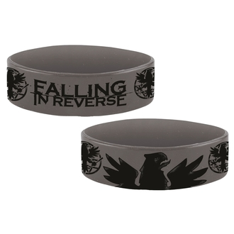 náramok gumový FALLING IN REVERSE - EAGLE - PLASTIC HEAD, PLASTIC HEAD, Falling In Reverse
