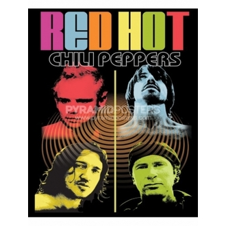 Plagát - Red Hot Chili Peppers - PP30090 - Pyramid Posters