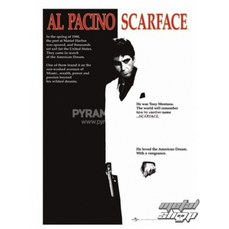 plagát Scarface (Movie One-sheet) - PP30091, PYRAMID POSTERS, Scarface