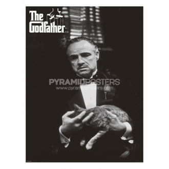 plagát - The Godfather (Cat B&W) - PP30526 - Pyramid Posters
