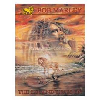 plagát - Bob Marley (Legend Lives On) - PP30664, PYRAMID POSTERS, Bob Marley