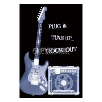 plagát Plug In ... Tune Up ... Rock Out - PP31159 - PYRAMID POSTERS