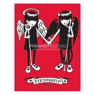 Plagát - Emily The Strange (Fiendship) - PP31164 - Pyramid Posters