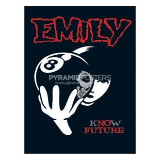 plagát - Emily The Strange (8 Ball) - PP31297, EMILY THE STRANGE