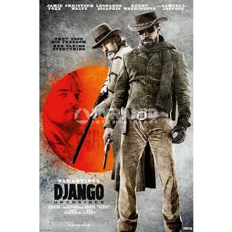 plagát Django Unchained - They Took His Free - Pyramid Posters - PP33034