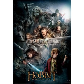 obraz 3D The Hobbit Dark Montage - Pyramid Posters, PYRAMID POSTERS