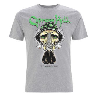 tričko pánske Cypress Hill - Skull Bucket - Grey, NNM, Cypress Hill