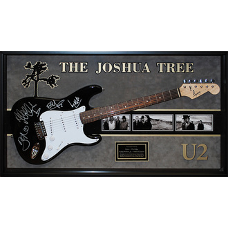 gitara s podpisom U2, ANTIQUITIES CALIFORNIA, U2