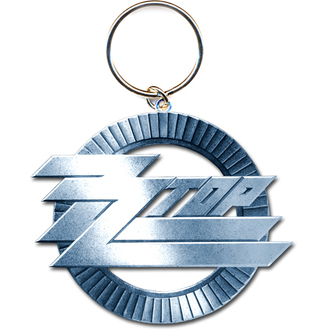 kľúčenka - prívesok ZZ Top (Circle Logo) - ROCK OFF, ROCK OFF, ZZ-Top