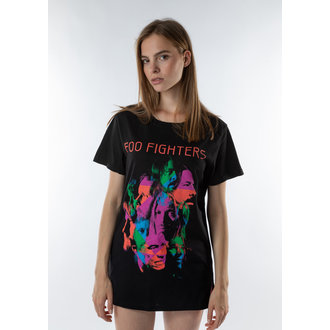 tričko (unisex) AMPLIFIED - FOO FIGTHERS - BLK, AMPLIFIED, Foo Fighters