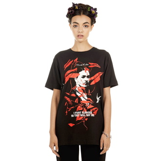 tričko unisex DISTURBIA - Frida Flowers, DISTURBIA