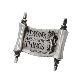 magnet Game of thrones - I Drink and I Know, NNM, Hra o trůny