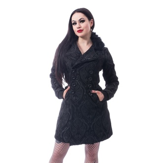 kabát dámsky Poizen Industries - CRAFT COAT - BLACK, POIZEN INDUSTRIES
