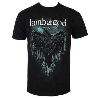 tričko pánske Lamb Of God - Phoenix - Black - ROCK OFF, ROCK OFF, Lamb of God