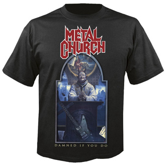 tričko pánske METAL CHURCH - Damned if you do - NUCLEAR BLAST, NUCLEAR BLAST, Metal Church