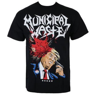 tričko pánske MUNICIPAL WASTE - TRUMP - WAL LS OF DEATH - JSR, Just Say Rock, Municipal Waste