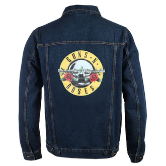 bunda pánska Guns N' Roses - Classic Logo - DENIM - ROCK OFF, ROCK OFF, Guns N' Roses