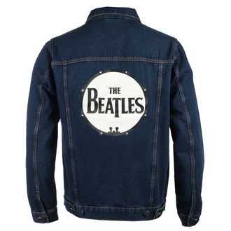 bunda pánska Beatles - Drum Logo - DENIM - ROCK OFF, ROCK OFF, Beatles