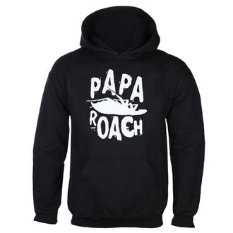 mikina pánska Papa Roach - Classic Logo - Black - KINGS ROAD, KINGS ROAD, Papa Roach