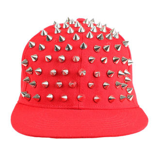 šiltovka Cupcake Cult - X SPIKE - RED / SILVER, CUPCAKE CULT