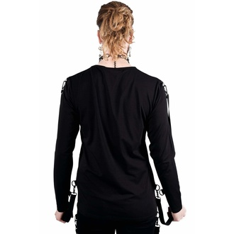 tričko s dlhým rukávom unisex KILLSTAR - Hack You Up, KILLSTAR