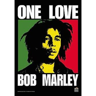 vlajka Bob Marley - One Love - HFL0245