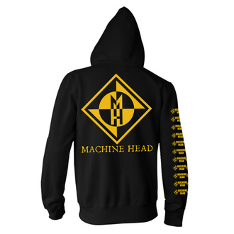 mikina pánska Machine Head - Diamond - Black, NNM, Machine Head