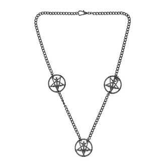 obojok Pentagram, Leather & Steel Fashion