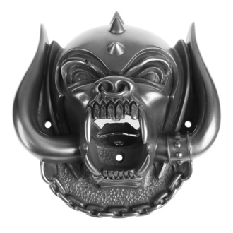 otvárač (nástenný) Motörhead - Snaggletooth (Gun Metal Finish) - BEER BUDDIES, BEER BUDDIES, Motörhead