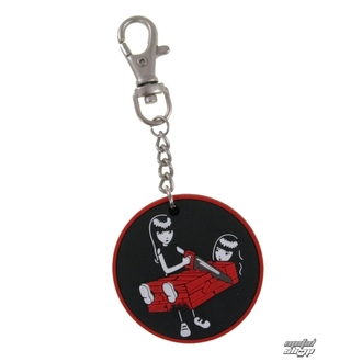 prívesok EMILY THE STRANGE - Emily (E1092312) Two Halves keychain