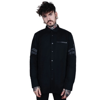 košele pánska KILLSTAR - Devastation - Button-Up - BLACK, KILLSTAR