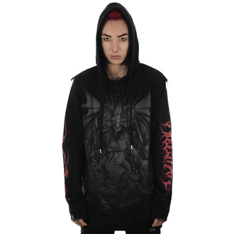 mikina dámska KILLSTAR - Satan Is A Woman Hoodie, KILLSTAR