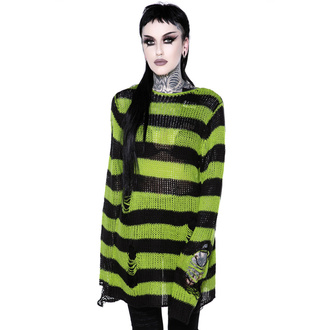 sveter dámsky KILLSTAR - Slimer Distress Knit Sweater, KILLSTAR
